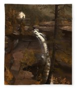 Kauterskill Falls Fleece Blanket