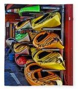 Kayaks Hdrbt3226-13 Fleece Blanket