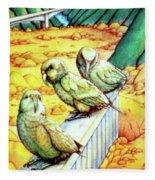 Kea Fleece Blanket