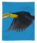 Keel-billed Toucan Fleece Blanket