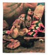 Keema Indian Princess Fleece Blanket