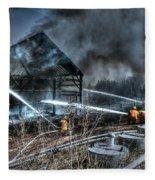 Keep Fire In Your Life No 9 Fleece Blanket