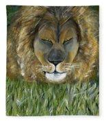 Keep Off The Grass Fleece Blanket