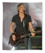 Musician Keith Urban Fleece Blanket