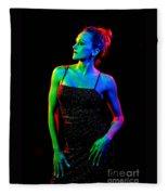 Kellierainbow-11 Fleece Blanket