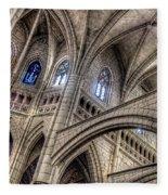 Ken Follets Cathedral No2 Fleece Blanket