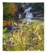 Kent Falls Fleece Blanket