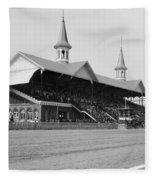 Kentucky Derby, 1901 Fleece Blanket