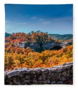 Kentucky - Natural Arch Scenic Area Fleece Blanket