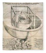 Keplers Universe, 1596 Fleece Blanket