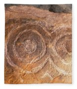 Kerbstone Spiral Fleece Blanket