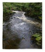Ketchikan River Fleece Blanket