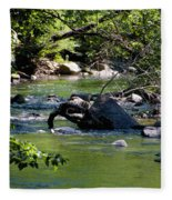 Keuka Seneca Outlet Trail Fleece Blanket