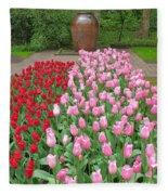 Keukenhof Gardens 1 Fleece Blanket