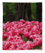 Keukenhof Gardens 16 Fleece Blanket