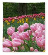 Keukenhof Gardens 17 Fleece Blanket