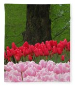 Keukenhof Gardens 18 Fleece Blanket