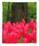 Keukenhof Gardens 19 Fleece Blanket