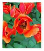 Keukenhof Gardens 2 Fleece Blanket