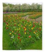 Keukenhof Gardens 29 Fleece Blanket