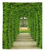 Keukenhof Gardens 31 Fleece Blanket