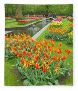 Keukenhof Gardens 70 Fleece Blanket