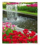 Keukenhof Gardens 71 Fleece Blanket