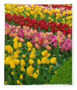 Keukenhof Gardens 72 Fleece Blanket