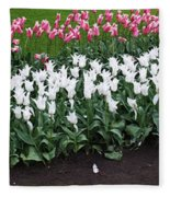 Keukenhof Gardens 8 Fleece Blanket
