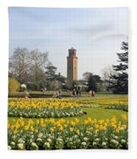 Kew Gardens London Fleece Blanket