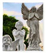 Key West Angels Fleece Blanket