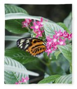 Key West Butterfly Conservatory - Monarch Danaus Plexippus 2 Fleece Blanket