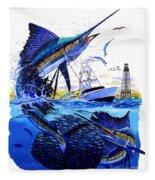 Keys Sail Fleece Blanket