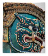 Khmer Guard Fleece Blanket