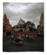 Khmer Life Fleece Blanket