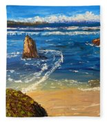 Kiama Beach Fleece Blanket
