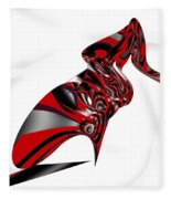 Kicky Heels By Jammer Fleece Blanket