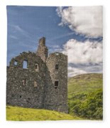 Kilchurn Castle 03 Fleece Blanket