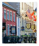 Killarney Ireland Storefronts 7690 Fleece Blanket