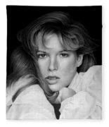 Kim Basinger Fleece Blanket