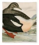 King Duck Fleece Blanket