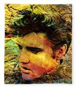 King Elvis Fleece Blanket