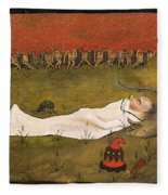 King Hobgoblin Sleeping Fleece Blanket