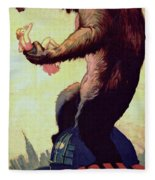 King Kong  Fleece Blanket