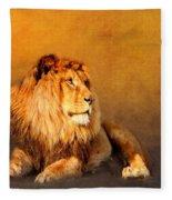 King Leo Fleece Blanket