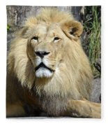 King Of Beasts Fleece Blanket