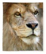 King Of The Beasts Fleece Blanket