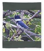 King Of The Tree Fleece Blanket