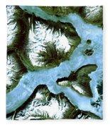 King Oscar Fjord Greenland Fleece Blanket