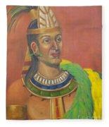 King Topiltzin Fleece Blanket